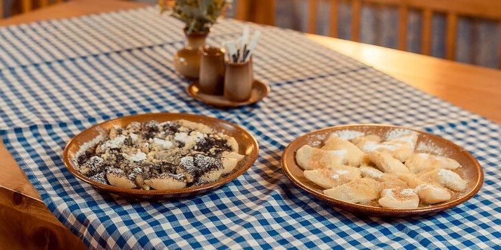 Tradičné slovenské jedlá: halušky, pirohy, kokošky či knedle - donáška