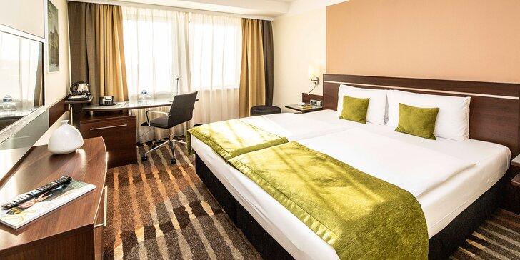 4 * pobyt v Prahe: hotel 15 min. metrom od Václavského námestia