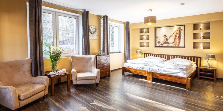 Zážitkový pobyt v 4 * dizajnovom hoteli v Beskydách s privátnymi kúpeľmi
