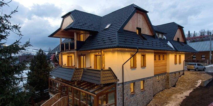 Aktívny aj relaxačný pobyt v krásnom apartmáne s kuchyňou vo Vysokých Tatrách
