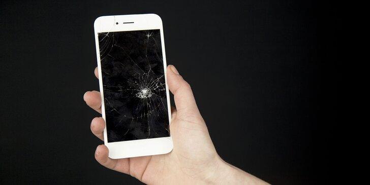 Výmena samostatného predného skla pre iPhone