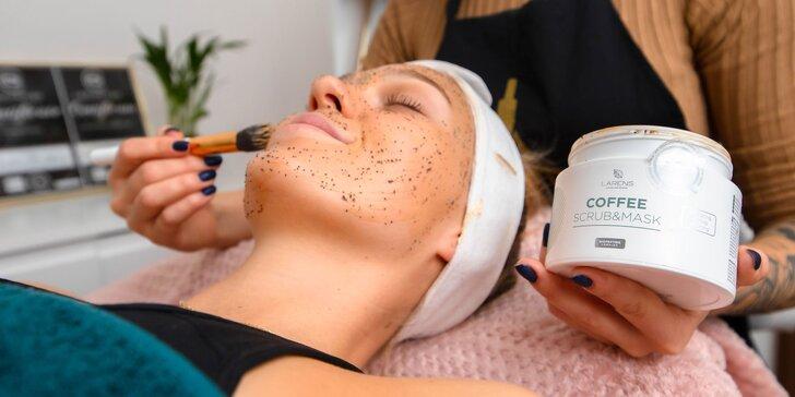 Unikátne ošetrenia pre luxusnú pleť: chemický peeling, coffee face & soul therapy či BB glowskin