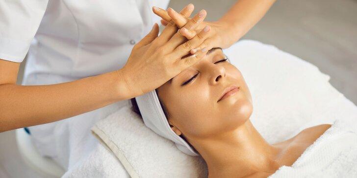 Masáž tváre, hĺbkové čistenie, chemický peeling či anti-age ošetrenie
