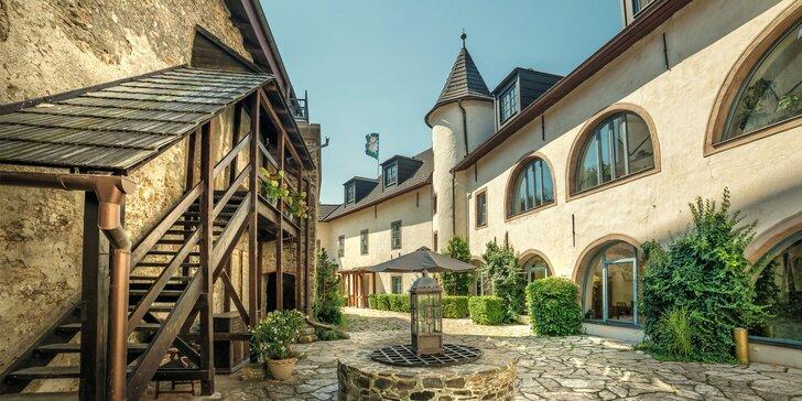 Kráľovský romantický pobyt ako z rozprávky v luxusnom hradnom hoteli Chateau GrandCastle**** s vynikajúcou gastronómiou a možnosťou využitia wellness
