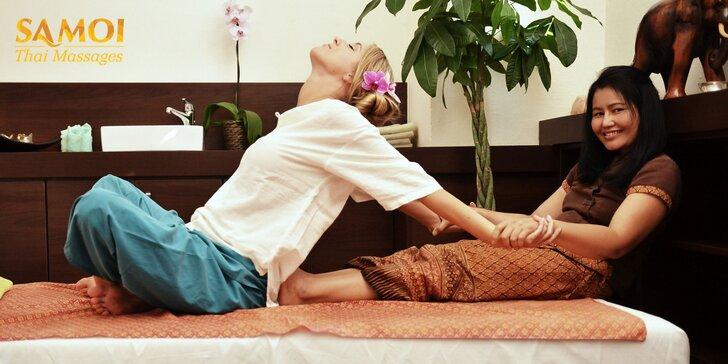 Vyberte si tradičnú, kokosovú alebo detoxikačnú GABA thajskú masáž