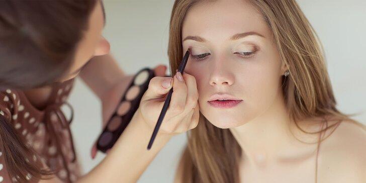 Úprava obočia, lash lifting či mini kurz líčenia s vizážistkou
