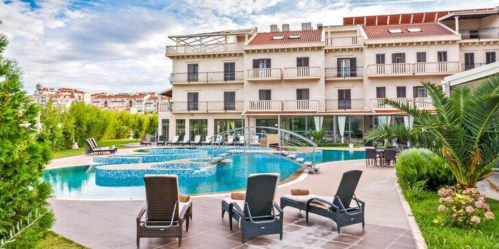Luxusný hotel v slnečnej Dalmácii: polpenzia, neobmedzený wellness a požičanie elektrobicyklov