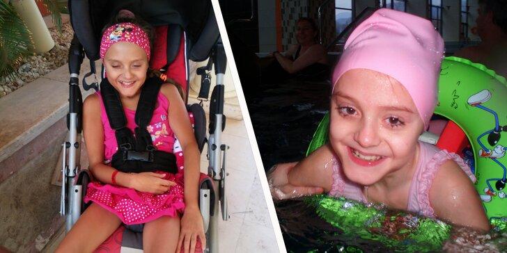 Viac radosti z pohybu pre Janku s detskou mozgovou obrnou