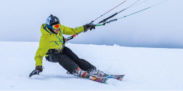 Individuálne alebo skupinové kurzy adrenalínového LANDKITINGU alebo SNOWKITINGU aj u vás doma!