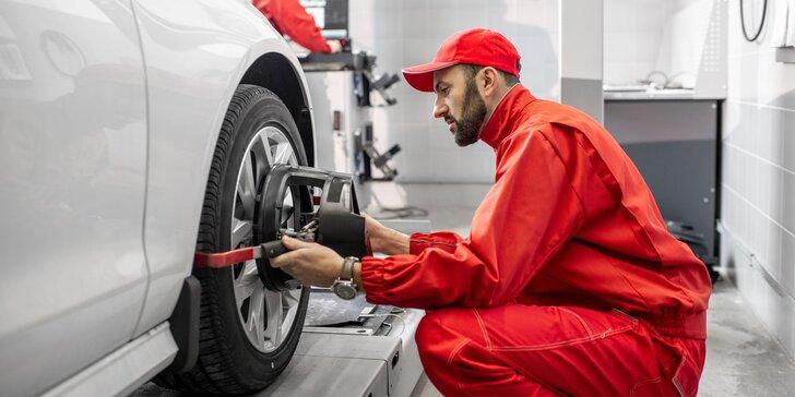 Správne jazdné vlastnosti vozidla a jeho ovládateľnosť s geometriou kolies a nastavením nápravy