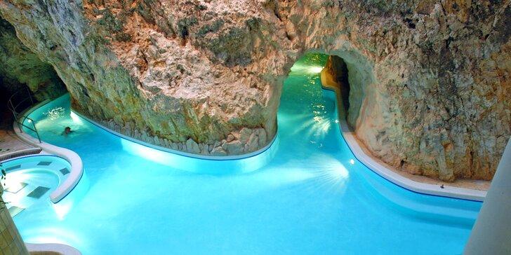 Wellness pobyt v blízkosti jedinečných jaskynných kúpeľov