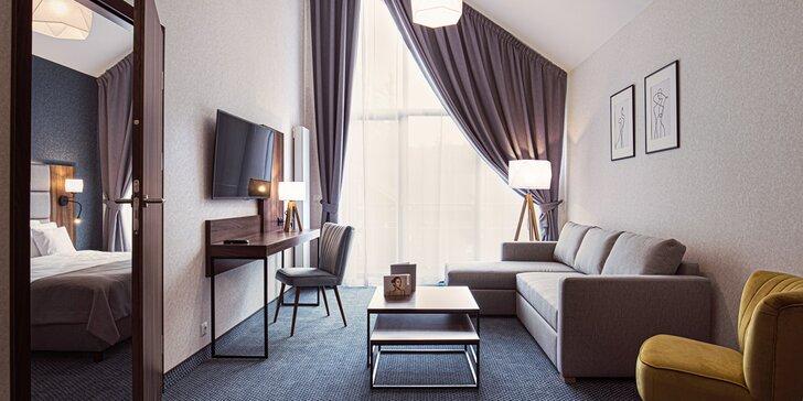 Poľské Krkonoše: pobyt s raňajkami v apartmánoch butikového aparthotela