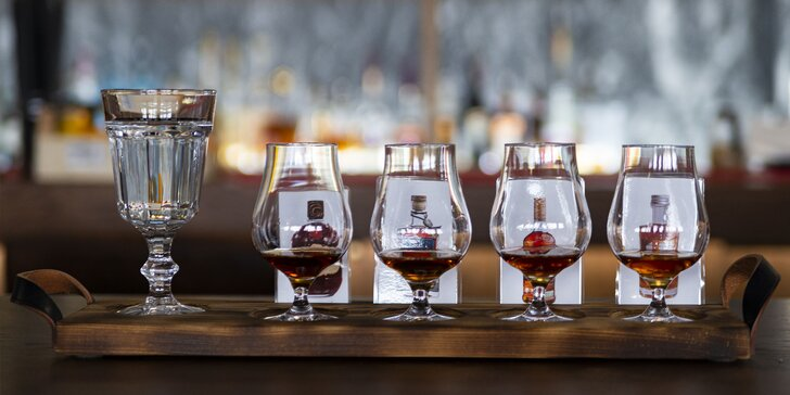 Degustácia rumov v City Caffe & Cocktail Bar