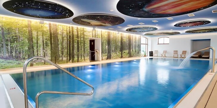 Pobyt so špičkovým wellness svetom v krásnom areáli Masarykov dvor***