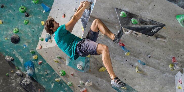 Vstup na lezeckú stenu či kurz lezenia s profesionálnym inštruktorom!