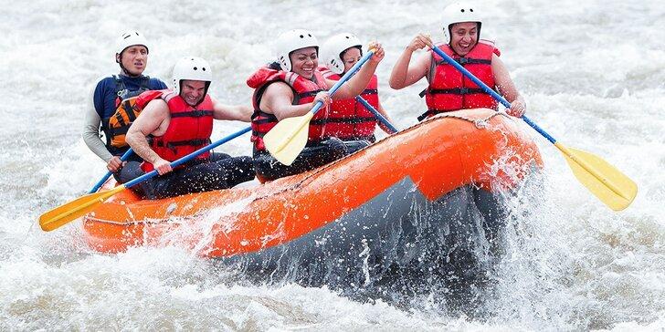 Rafting na rieke Belá aj s fotografiami či videozáznamom