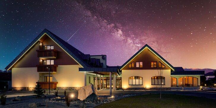 Zimný pobyt v novootvorenom Hoteli Demänová**** s polpenziou, wellness, aj zvýhodnenou súkromnou saunou