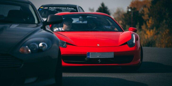 Zážitok vo Ferrari, Lamborghini, McLarene a Porsche.
