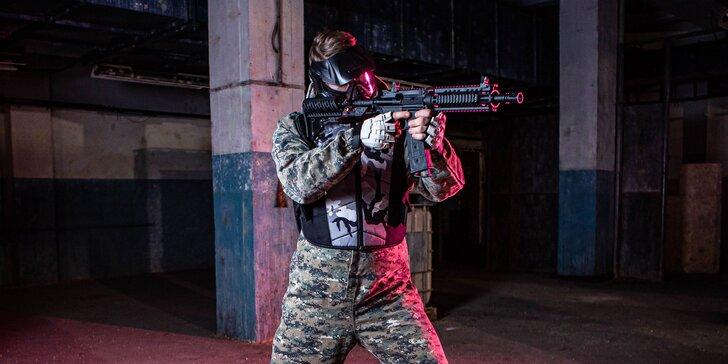 Zábava pri PRO-Paintballe v HERO FACTORY - vyskúšajte najnovší typ zbrane