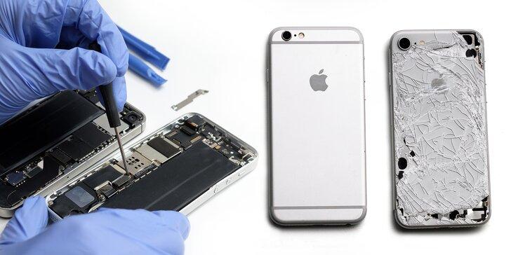 Výmena samostatného zadného skla pre iPhone