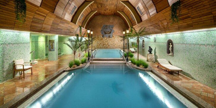 Výborná wellness dovolenka v maďarskom Hevízi v hoteli so zážitkovými aj termálnymi kúpeľmi