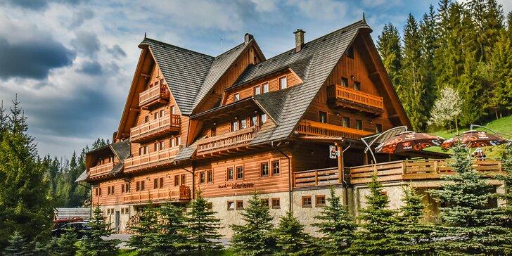 Hotel Marlene**** s neobmedzeným wellness, bazénom a fantastickou gastronómiou v horskom prostredí Veľkej Rače s množstvom aktivít