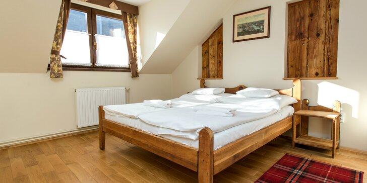 Relaxačný wellness pobyt v útulnom hoteli s chutnou polpenziou