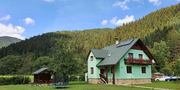 Ubytovanie v lone nádhernej prírody, iba 250 m od Aqua Vital parku Lúčky