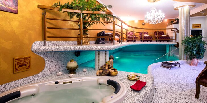 Víkendový wellness pobyt v hoteli GOLDEN ROYAL****