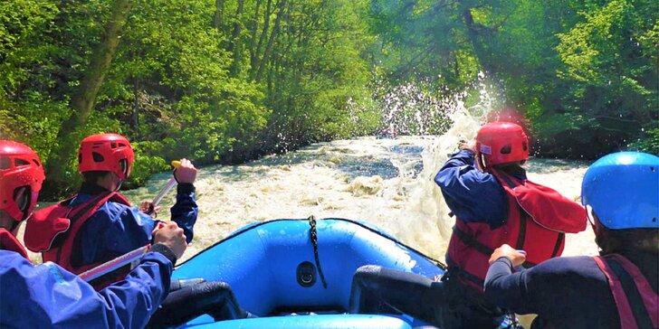 Adrenalínový rafting na divokej rieke Białka aj s videozáznamom