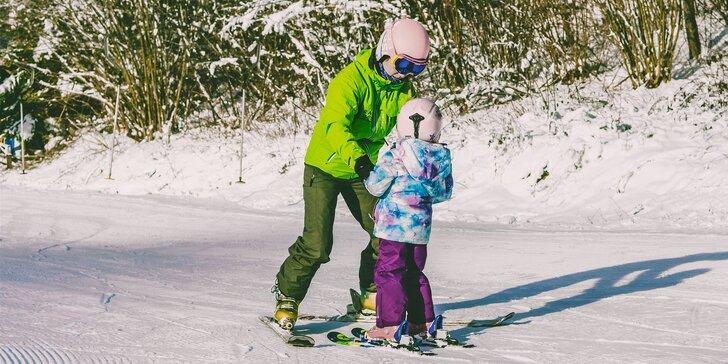 Individuálne lekcie lyžovania či snowboardovania so zapožičaním výstroja v RAW Vrátna