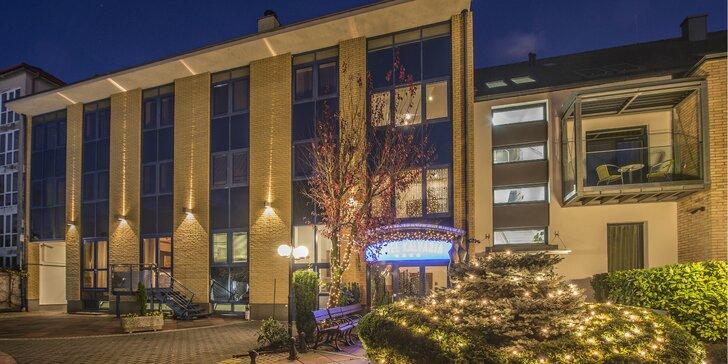 Pobyt v 4* hoteli v srdci Győru - chutná strava a vstup do hotelového wellness centra