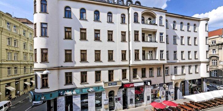 Na dosah obľúbených brnenských podnikov a atrakcií: penzión v centre mesta s raňajkami až do izby