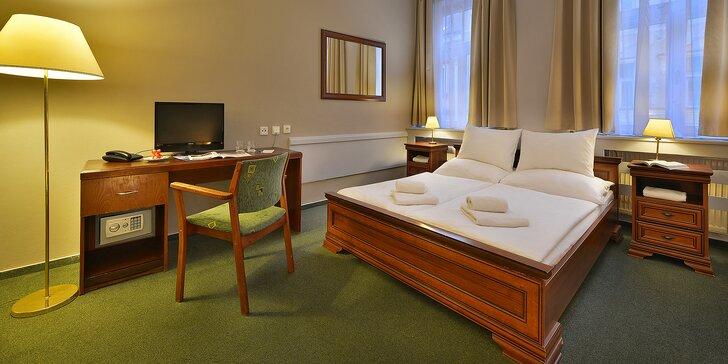 Elegantný hotel na Žižkově, bohaté raňajky a TOP miesta Prahy na dosah