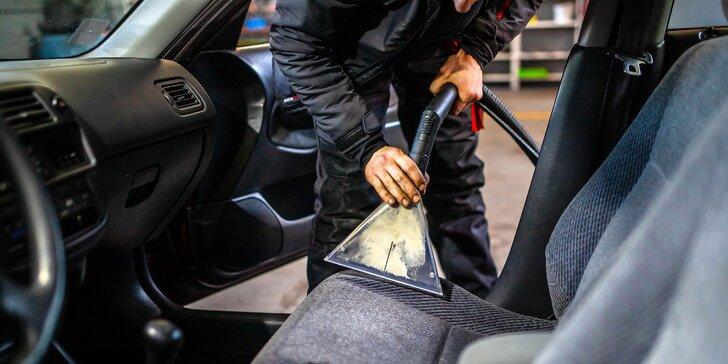 Čistenie interiéru vozidla, tepovanie či hĺbkové čistenie kože aj s impregnáciou