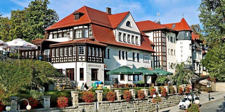 Wellness pobyt v centre kúpeľného mestečka Polanica-Zdrój: polpenzia a krásne prostredie