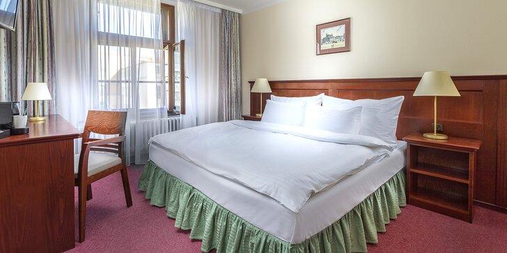 Pobyt na Vinohradoch: klimatizovaná izba, raňajky a pobyt pre dieťa do 11,9 rokov zdarma