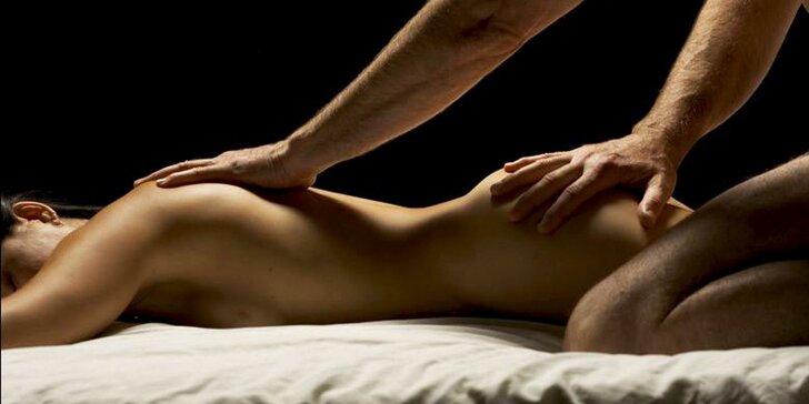 Senzuálna olejová masáž pre dámy, pánov aj páry s platnosťou až do novembra 2021