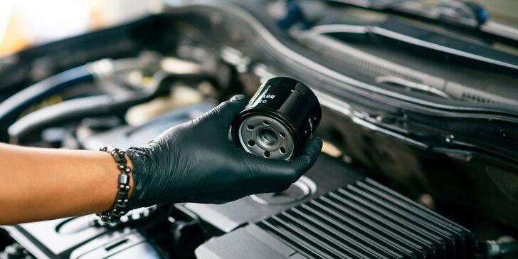 Profesionálna výmena oleja a filtrov vášho vozidla