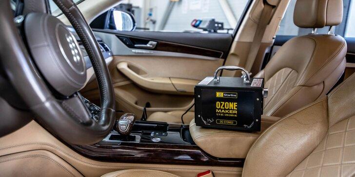 Dezinfekcia auta ozónom alebo kompletný servis klimatizácie s chladivom
