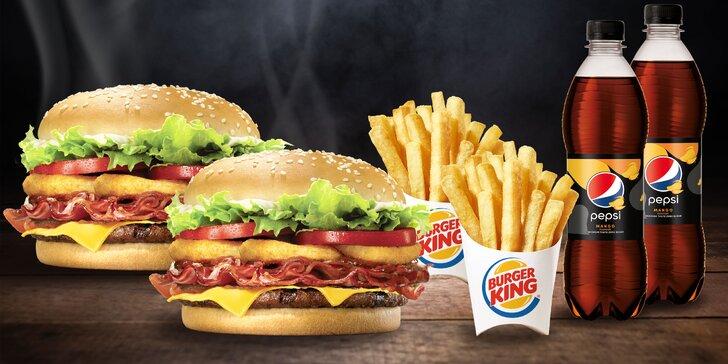 Akcia 1+1 stredné menu v Burger King – Bratislava a Košice