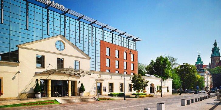 Pobyt v nádhernom 5* hoteli Sheraton Grand Krakow: raňajky či polpenzia, bazén, fitness i masáž