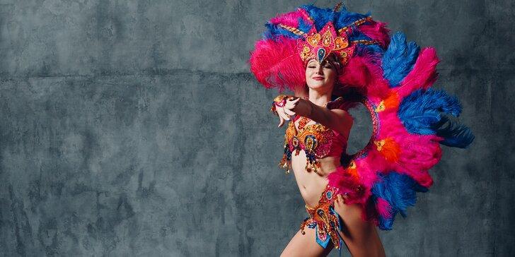 ONLINE tanečný kurz Latino pre ženy: chacha, jive, rumba a samba