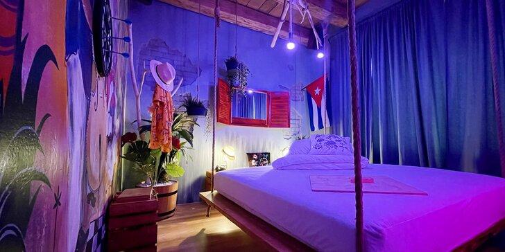 Noc v zážitkových izbách: prežite lásku v Indii, na Kube alebo v atmosfére Japonska