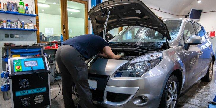 Dekarbonizácia motora certifikovaným vodíkovým prístrojom + dezinfekcia klimatizácie vozidla ozónom ZADARMO