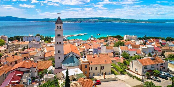 Pobyt v chorvátskom kúpeľnom meste Crikvenica: polpenzia a bazén priamo v hoteli
