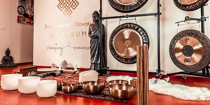 SOUND & GONG healing - unikátna liečebná online meditácia pod vedením masterky Lucie Nosko