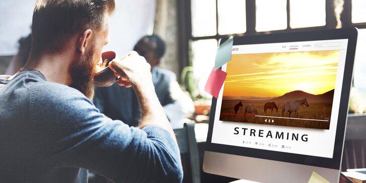Mesačné či štvrťročné predplatné streamu AFRION TV: filmy, TV relácie, hudba