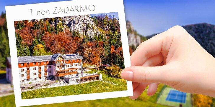 🌞 KÚP teraz, využi v LETE: Krásne horské prostredie Veľkej Fatry s privátnym wellness, chutnou polpenziou a športami na Malinô Brdo