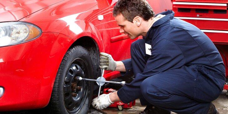 Výmena kolies, kompletné prezutie či uskladnenie pneumatík
